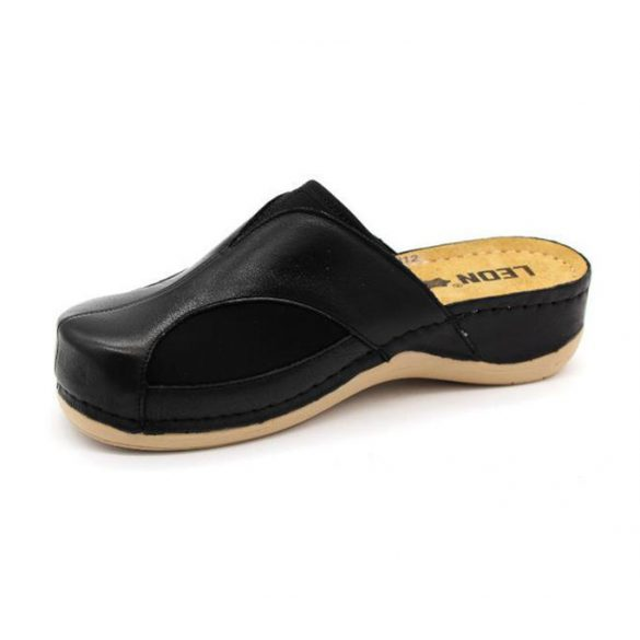 Leon Comfort női papucs-912 Fekete