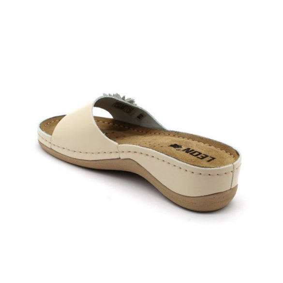 Leon Comfort női papucs-915 Bézs