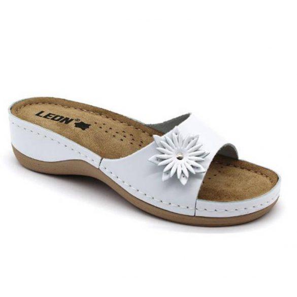 Leon Comfort női papucs-915 Fehér