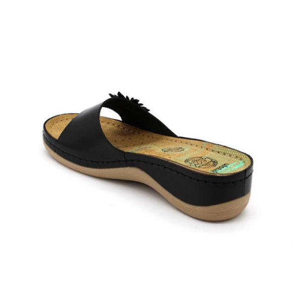 Leon Comfort női papucs-915 Fekete