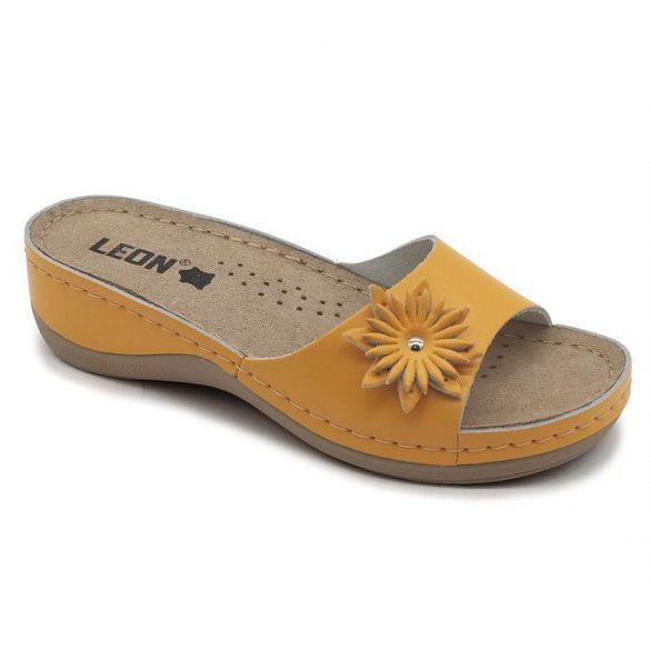 Leon Comfort női papucs-915 narancssárga