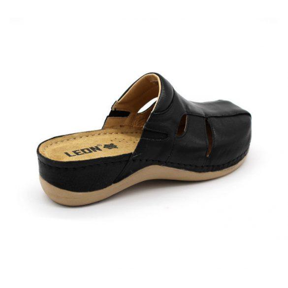 Leon Comfort női papucs-925 Fekete