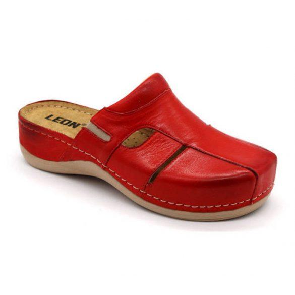 Leon Comfort női papucs-925 Piros