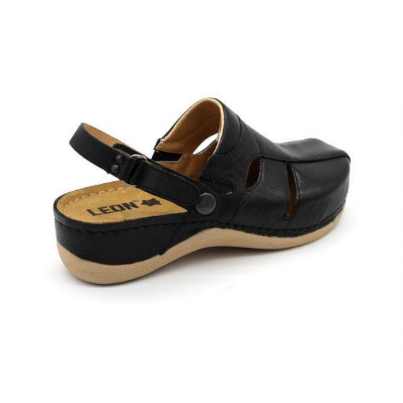 Leon Comfort női papucs-926 Fekete