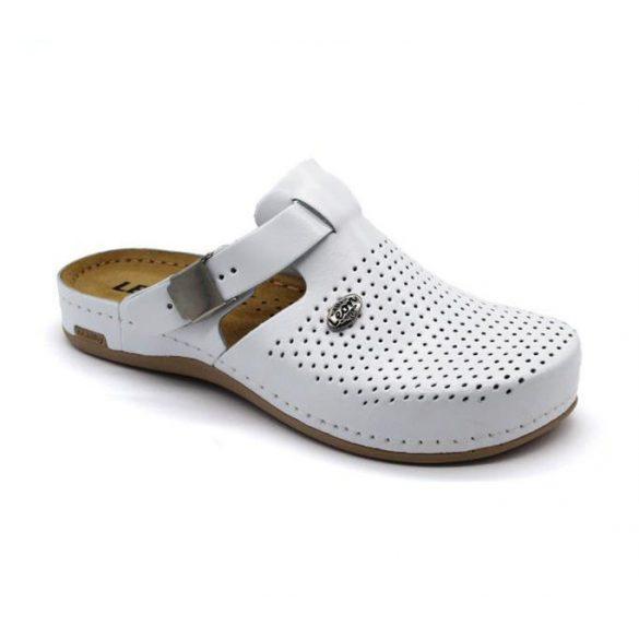Leon Comfort női papucs-950 Fehér