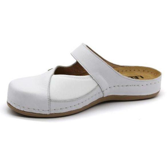 Leon Comfort női papucs-953 Fehér