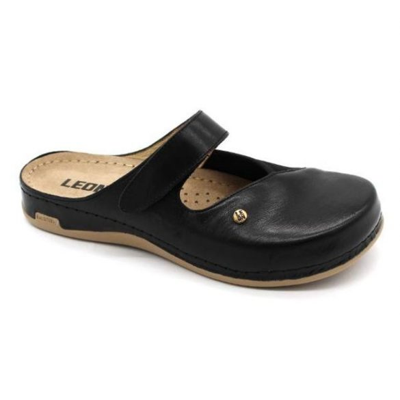 Leon Comfort női papucs-953 Fekete