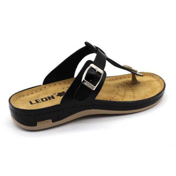 Leon Comfort női papucs-980 Fekete
