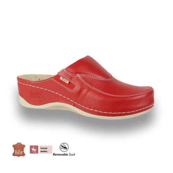 Batz női papucs-FC10 Piros