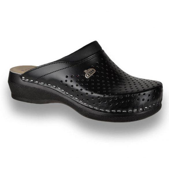 Leon Comfort női papucs-PU 100 Fekete