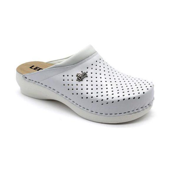 Leon Comfort női papucs-PU 100 Fehér