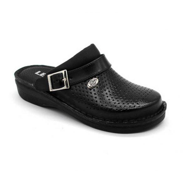 Leon Comfort női papucs-V202 Fekete