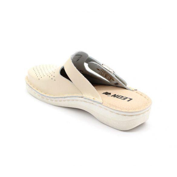 Leon Comfort női papucs-V260 Bézs
