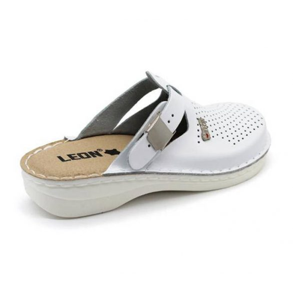 Leon Comfort női papucs-V260 Fehér